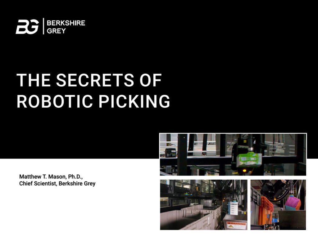The Secrets of Robotic Picking