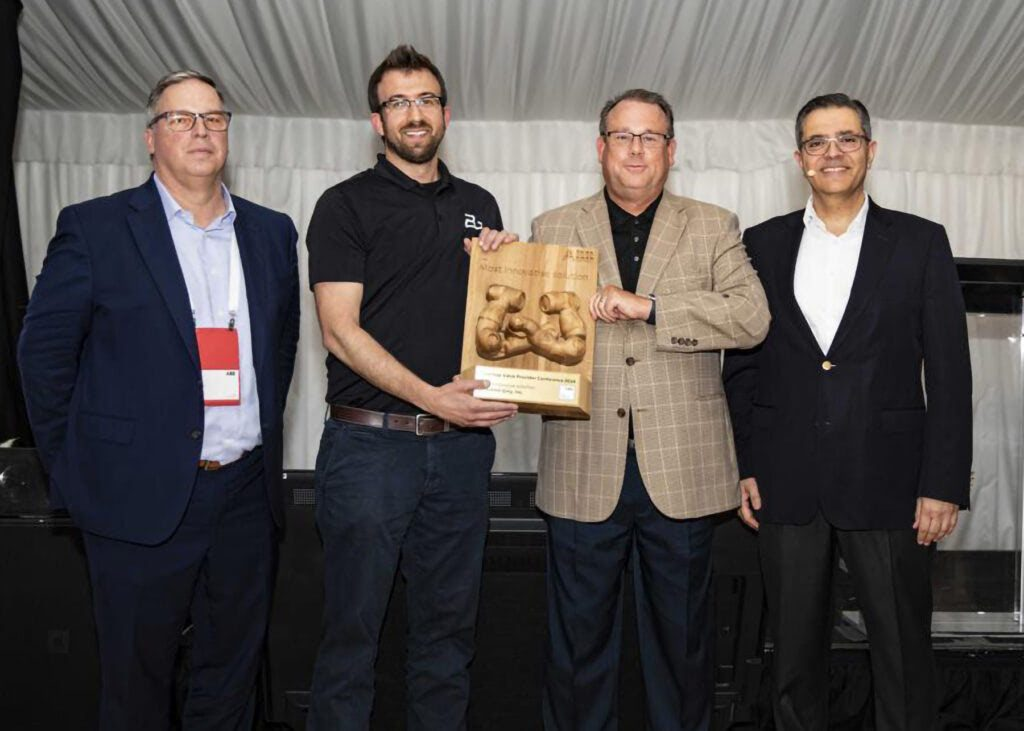 """BERKSHIRE GREY GARNERS """"MOST INNOVATIVE SOLUTIONS"""" AWARD FOR ROBOTIC PICKING AND FULFILLMENT SYSTEMS."""