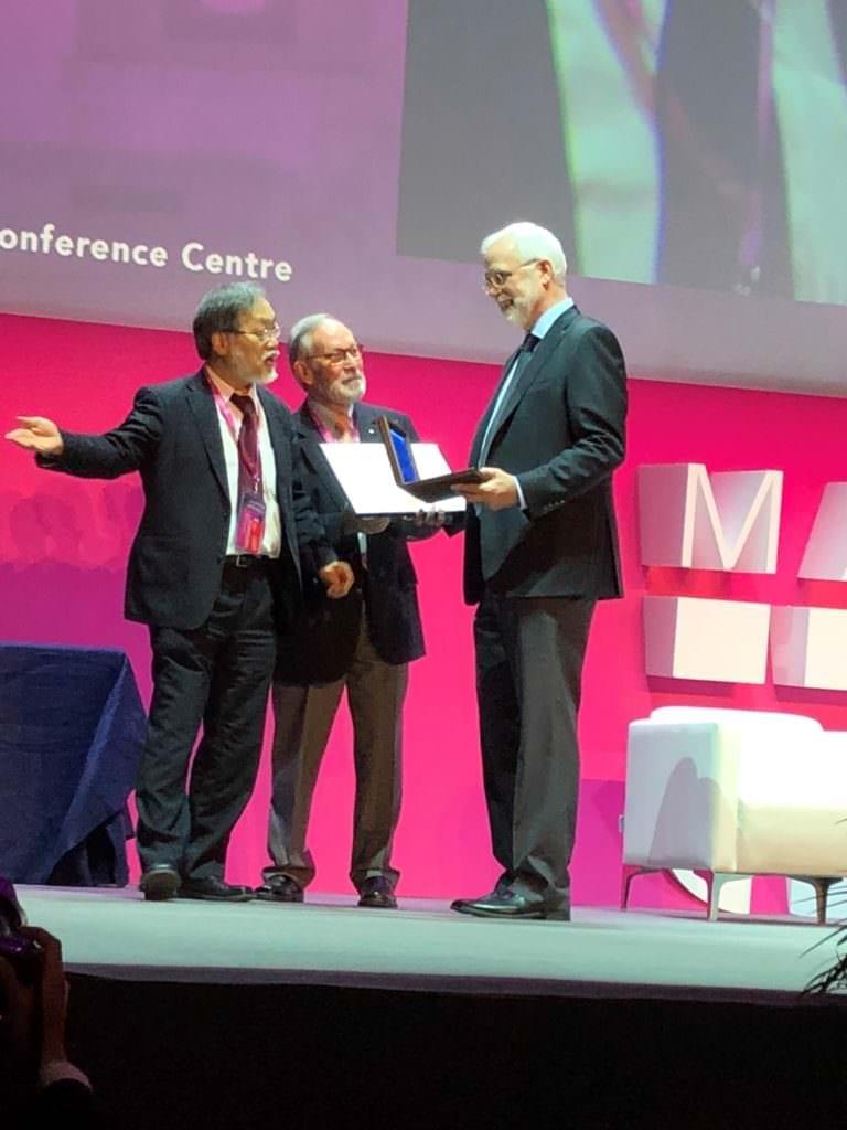 Matt Mason Presented with IEEE Robotics Award