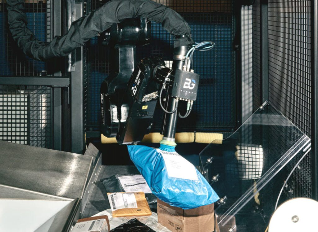 Robotic Parcel Sortation Works for Retailers and Parcel Carriers