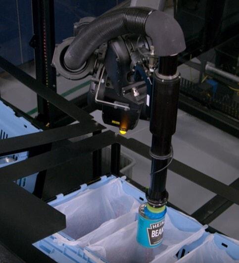 Robot picking spectrumgripper end effector