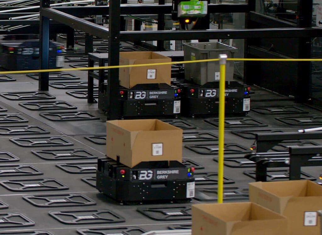 robots omnichannel highway
