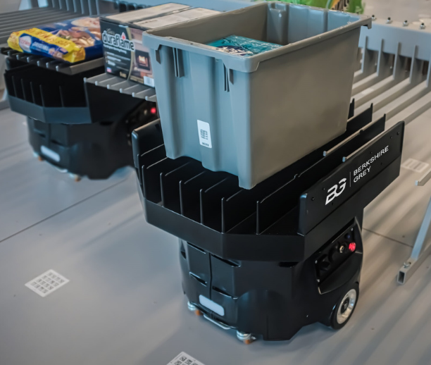 Enable dynamic any-to-any induct-to-discharge sortation with higher payloads with industrial-grade mobile robotic platform.