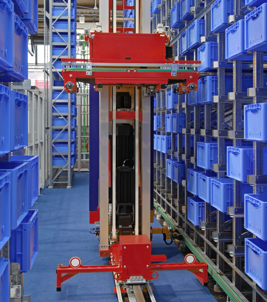 ASRS systems increase storage capacity