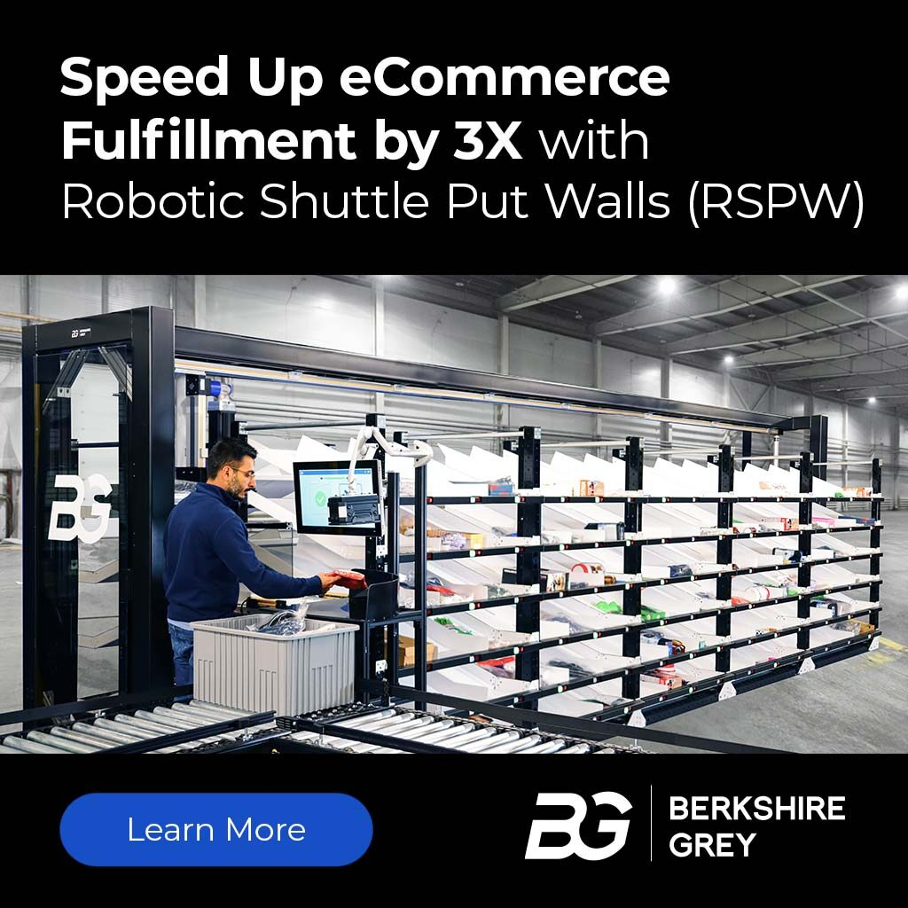 Speed Up eCommerce  Fulfillment by 3X with  Robotic Shuttle Put Walls (RSPW)