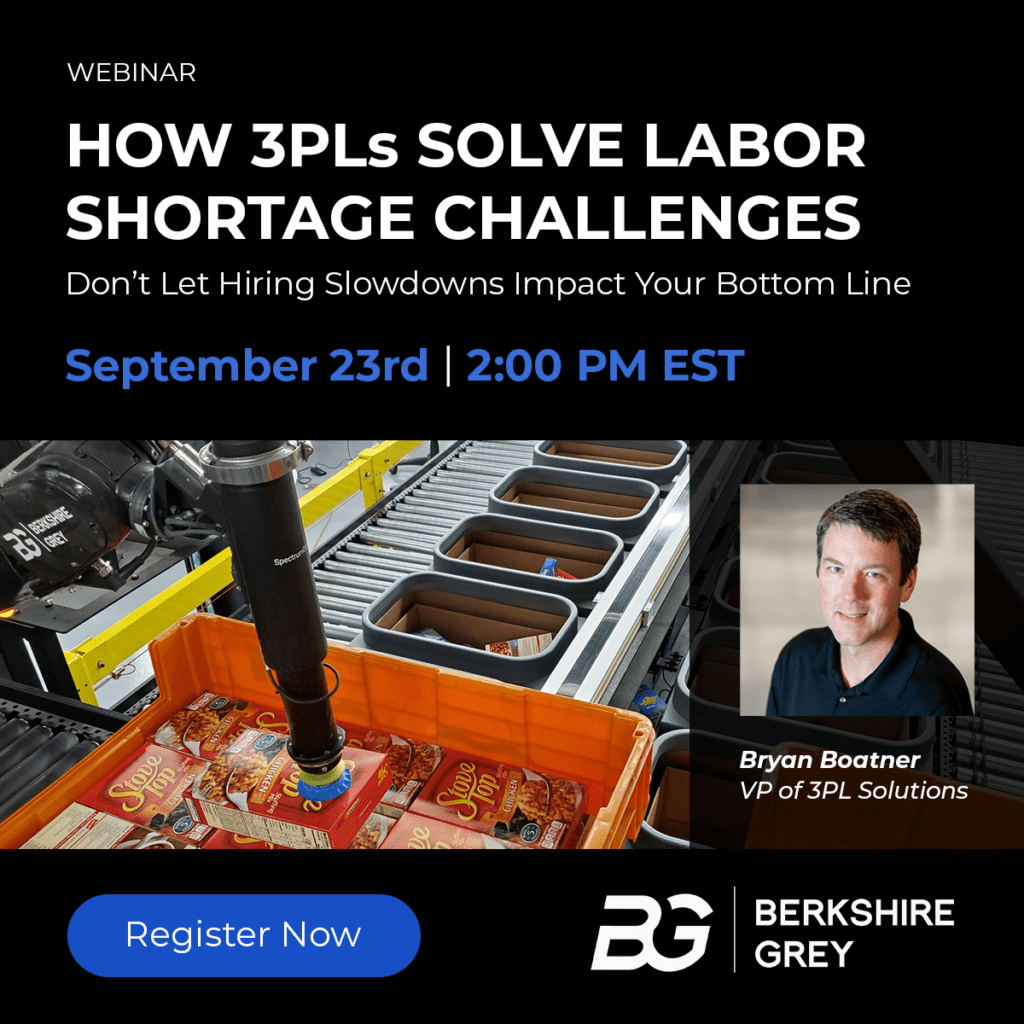 How 3PLs Solve Labor Shortage Challenges — with AI-powered Robotic Automation